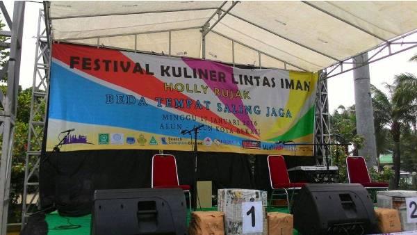 Festival Kuliner Lintas Iman Ilegal Di Alun Alun Pemkot